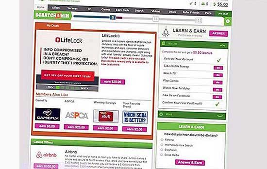 Make money online reading emails
