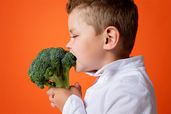 Do You Want Children to Eat Health Food?
